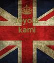 loyola kami    - Personalised Poster large
