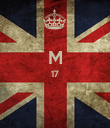 M 17   - Personalised Poster large