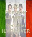 Mantener La Calma  Y Ser Una  ILVOLOVER - Personalised Poster large