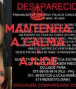 MANTENHA A CALMA E AJUDE  - Personalised Poster large