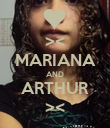 >< MARIANA AND ARTHUR >< - Personalised Poster large
