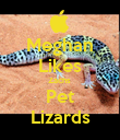 Meghan  Likes Zachs  Pet Lizards - Personalised Poster large