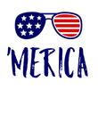 'MERICA - Personalised Poster large