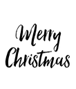 Merry Christmas - Personalised Poster large