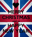 MERRY CHRISTMAS AND A HAPPY NEW YEAR! - Personalised Poster large