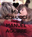 MIA COLUCCI AND MANUEL AGUIRRE - Personalised Poster small