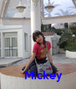 Mickey - Personalised Poster large