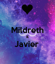 Mildreth &' Javier   - Personalised Poster small