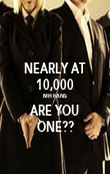 NEARLY AT 10,000 MH FANS ARE YOU ONE?? - Personalised Poster large