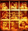 """""""NEM TUDO ESTÁ PERDIDO Anne Frank QUANDO AINDA É POSSÍVEL AMAR"""" - Personalised Poster large"""
