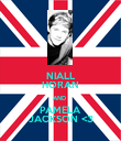 NIALL HORAN AND  PAMELA JACKSON <3 - Personalised Poster large