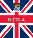 NICOLA    - Personalised Poster large