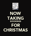 NOW TAKING BOOKINGS FOR CHRISTMAS - Personalised Poster large