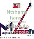Ntshama hansi  NAVA NGHENA NHlamulo Gondzolo - Personalised Poster large