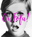 Oi, Fofa! - Personalised Poster large
