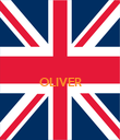 OLIVER   - Personalised Poster large