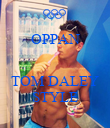 OPPAN   TOM DALEY STYLE - Personalised Poster large