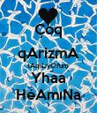 Çoq qArizmA tAqıLıyOrum  Yhaa HéAmıNa - Personalised Poster large