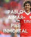 PABLO AIMAR EL PIBE INMORTAL - Personalised Poster large