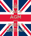 PACE AGM 2012 GREAT BRITIAN - Personalised Poster small
