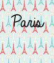 Paris    - Personalised Poster large