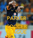 PARKER  SOCCER LEAGUE - Personalised Poster large