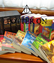 POTTER ON     - Personalised Poster large
