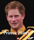 Prince Harry - Personalised Poster large