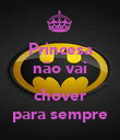 Princesa não vai  chover para sempre - Personalised Large Wall Decal