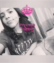 Princess Shelby    - Personalised Poster large