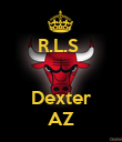 R.L.S    Dexter AZ - Personalised Large Wall Decal