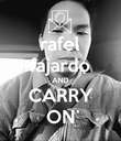 rafel fajardo AND CARRY ON - Personalised Poster large
