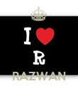 RAZWAN - Personalised Large Wall Decal