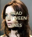 READ BETWEEN THE LINES  - Personalised Poster large