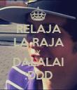 RELAJA LA RAJA Y DALALAI :DDD - Personalised Poster small