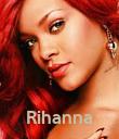 Rihanna - Personalised Poster large