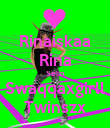 Rinaiskaa Rina Selin Swaqqaxgirll Twinszx - Personalised Large Wall Decal