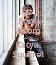 Roma Acorn Love Katya  Squirrel - Personalised Poster large