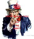 ROME NEEDS YOU  TO  JOIN THE ARMY - Personalised Poster large