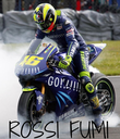 ROSSI FUMI - Personalised Poster large