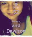 S2  Amanda and Dawison - Personalised Poster large
