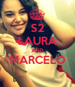 S2 LAURA AND MARCELO  - Personalised Poster large
