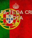 SAFA-TE DA CRISE VOTA A   - Personalised Poster large