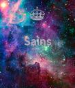 Sains    - Personalised Poster large