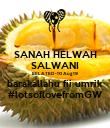 SANAH HELWAH SALWANI BELATED -10 Aug 19 barakallahu fii umrik #lotsoflovefromGW - Personalised Poster large