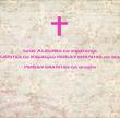 Sede ALEGRES na esperança PACIENTES na tribulação PERSEVERANTES na oração PERSEVERANTES na oração   - Personalised Poster large