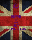 SEFIVE IS NOISY BUT SEFIVE IS FUN - Personalised Poster large