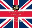 SHAKINAH THALIB LOVES FAHRI SURIYAWAN - Personalised Poster large