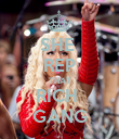 SHE  REP THAT RICH  GANG - Personalised Poster large