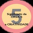 Significado da CASA 5  .  .  . a CRIATIVIDADE - Personalised Poster small